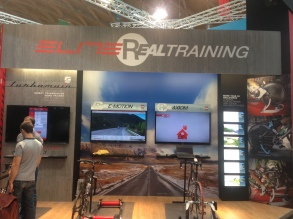 Elite Real Training at Eurobike