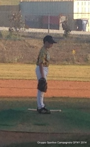 Matthew on the mound